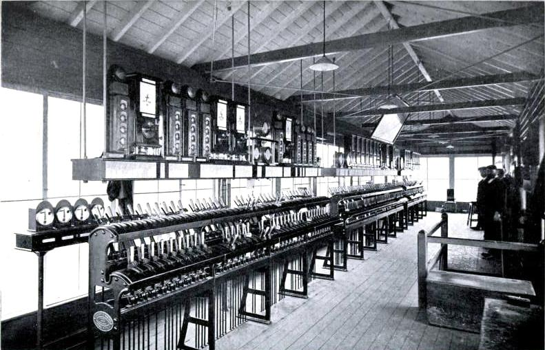 South Junction signal box, Crewe, London & North Western Railway