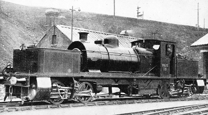 "THE FIRST ""GARRATT"" LOCOMOTIVE put into service in Great Britain"