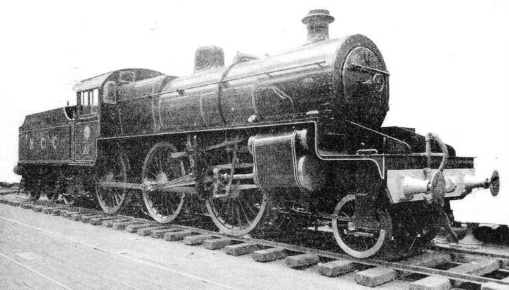Northern Counties Committee system new 2-6-0 two-cylinder superheater engine