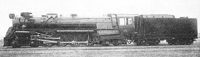 A 4-8-4 K class used to haul passenger expresses and also heavy goods trains in New Zealand