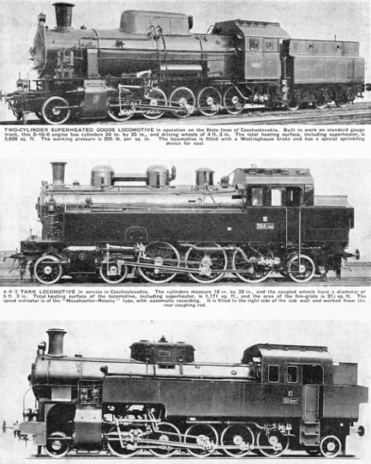 Czechoslovakian locomotives