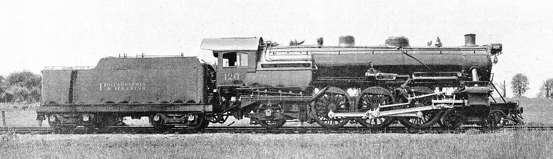 "POWERFUL ""PACIFIC"" INTRODUCED ON THE PHILADELPHIA AND READING RAILROAD, 1918"
