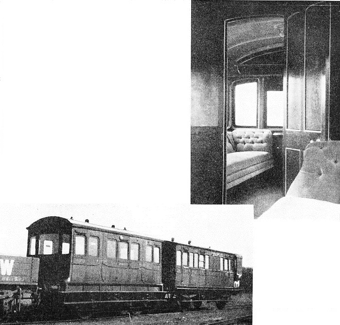 the London and South Western Railway Company's royal saloon