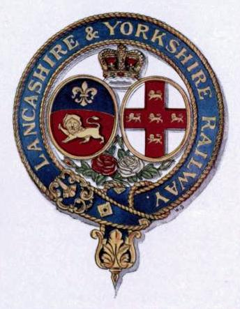 LANCASHIRE & YORKSHIRE RAILWAY COAT OF ARMS