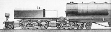"Proposed ""Super-Garratt"" locomotive"