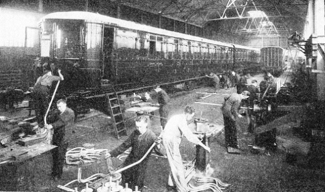 AT LANCING, in the Southern Railway's shops