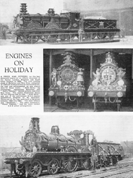 Engines on holiday