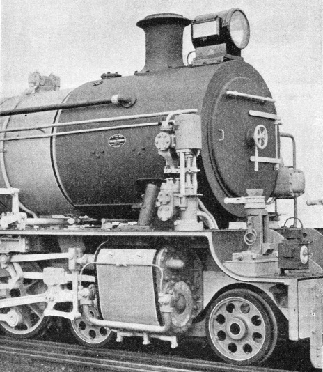 Feed-water pump fitted to a Tanganyika metre-gauge locomotive