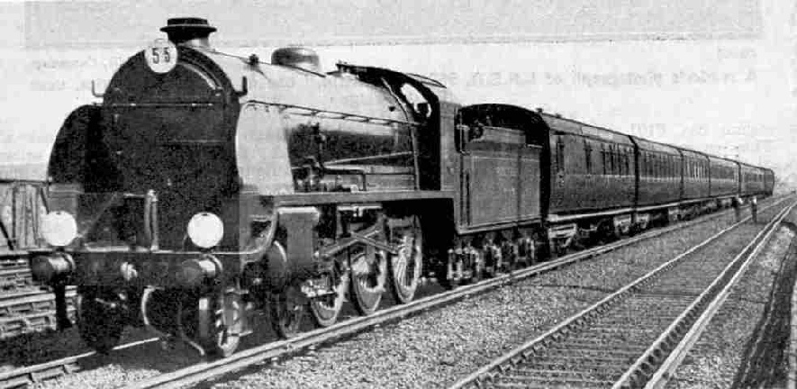 Sir Lamiel on the down Bournemouth Limited