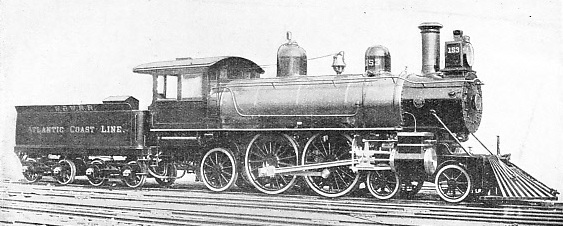 THE EXPERIMENTAL 4-4-2 LOCOMOTIVE BUILT FOR THE PHILADELPHIA-ATLANTIC CITY SERVICE