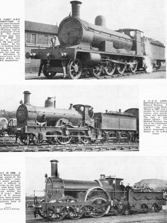 Some locomotive types