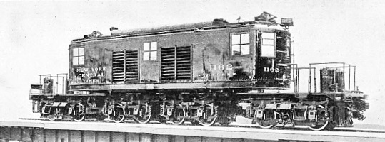 LATEST TYPE OF EXPRESS ELECTRIC LOCOMOTIVE ON THE NEW YORK CENTRAL SYSTEM