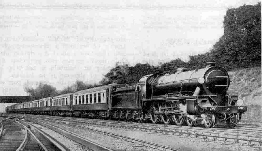 Dover Pullman Express passing Bickley
