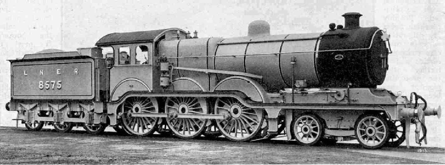 One of the new 4-6-0 Locomotives, 1500 class, LNER