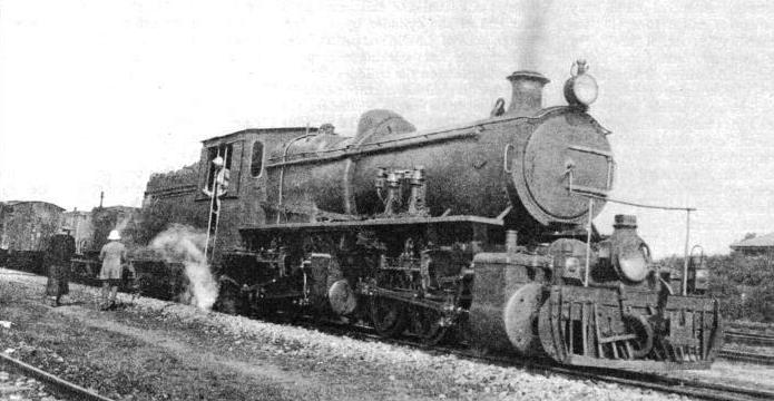 "A 0-6-0 + 0-6-0 ""MALLET"" COMPOUND LOCOMOTIVE built to work on the Lashio and Southern Shan States branches of the Burma Railways"