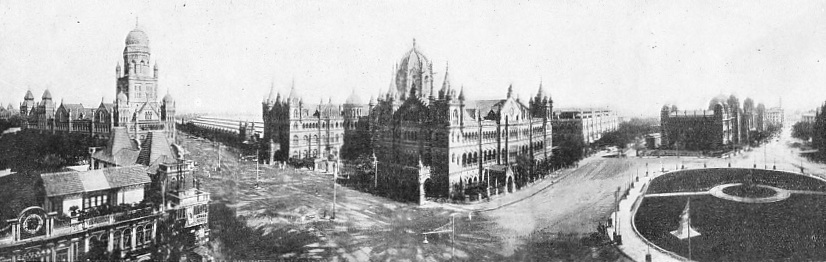 VICTORIA STATION, THE BOMBAY TERMINUS OF THE GREAT INDIAN PENINSULA RAILWAY