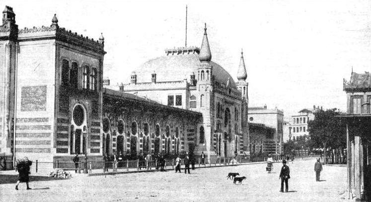 "The Sirkedji railway station at Istanbul, where the ""Orient Express"" reaches the end of its journey"