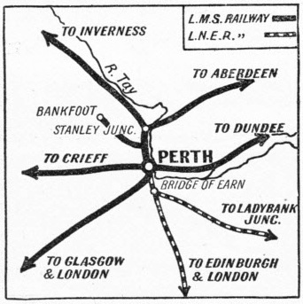 The railway importance of Perth Station