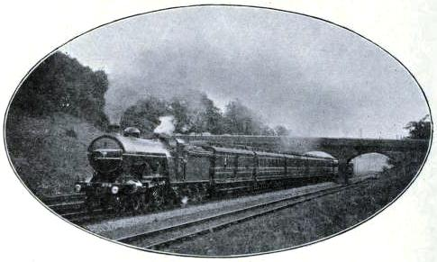 "An East Coast ""Flier"", Great Northern Railway"