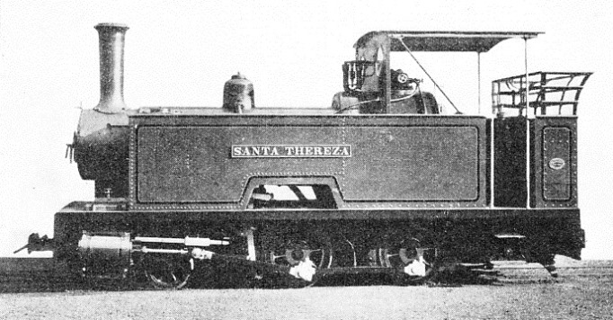 THIS TYPE OF TANK LOCOMOTIVE is used on many sugar plantations throughout the world