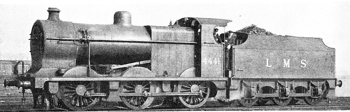 STANDARD 0-6-0 FREIGHT ENGINE in use on the LMS