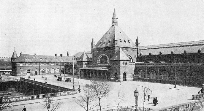The Main Station at Copenhagen