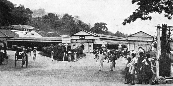 A view of Kandy Railway Station