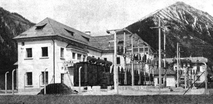 AN AUSTRIAN POWER STATION west of the Tauern line