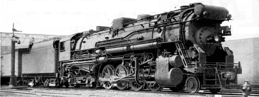 One of the giant Pacifics that haul the Twentieth Century Limited