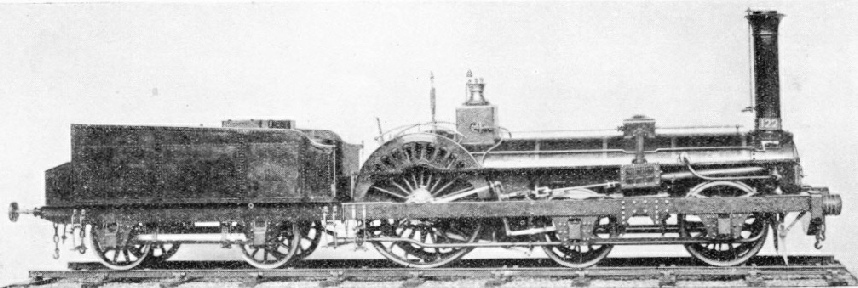 An early French express engine
