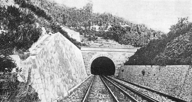 The Campi Flegrei Tunnel