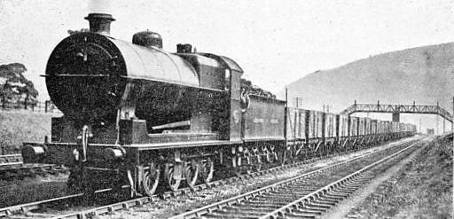 HEAVY YORKSHIRE COAL TRAIN ON THE LMS RAILWAY