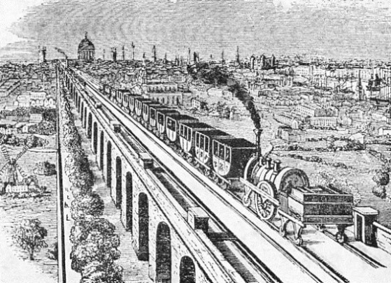 THE GREENWICH RAILWAY IN 1837