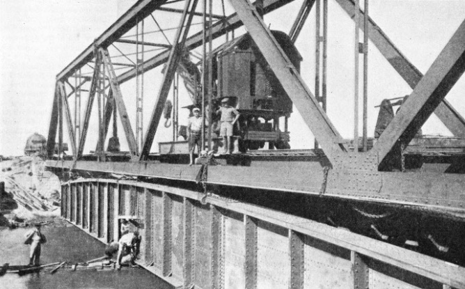 Bridge replacement over the River Kishon in Northern Palestine