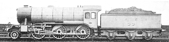 MIXED TRAFFIC ENGINE in service on the LNER