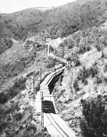 GRADIENTS OF 1 IN 22 are encountered on the Mexican Railway