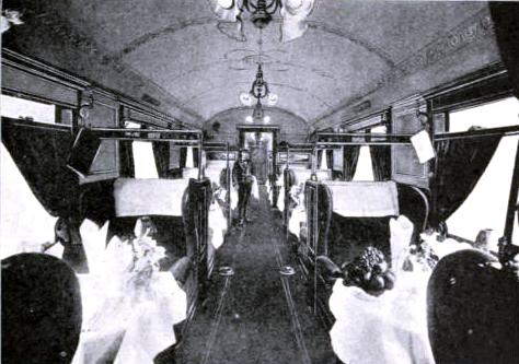 Dining Saloon of the East Coast Express