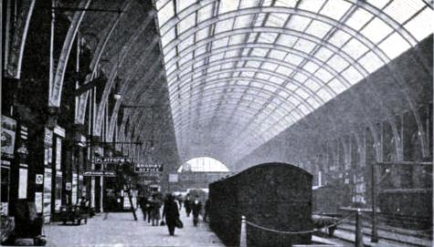 No. 1 Departure Platform at King's Cross