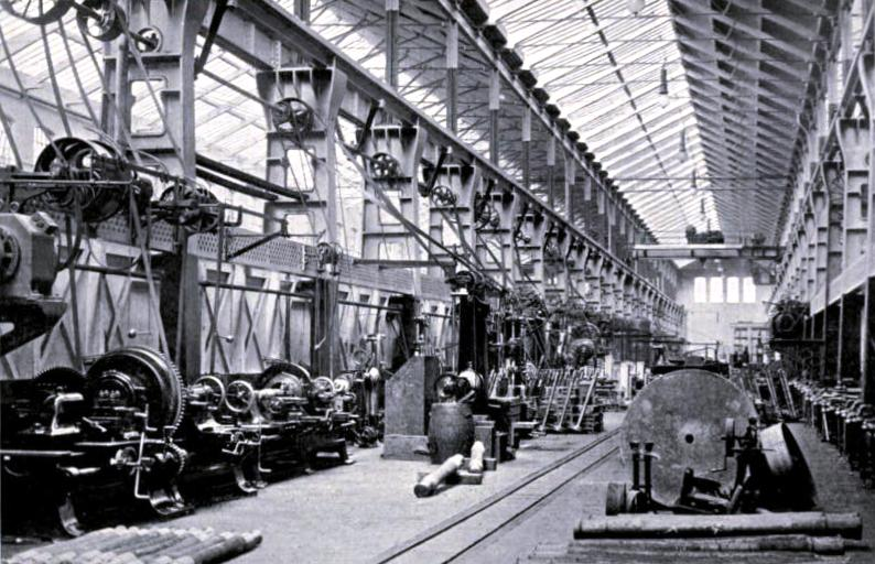Doncaster Works - the Machine Shop