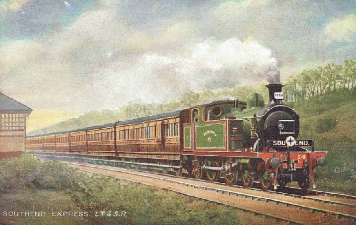 a Southend express of the London Tilbury & Southend Railway