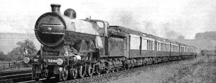 "The ""Queen of Scots"" Pullman express near Grantham"
