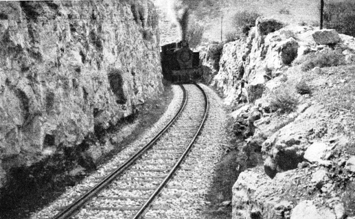 Steel sleepers used on the line between Jaffa and Jerusalem