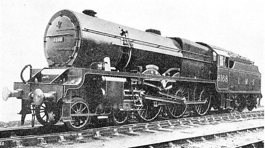"""The Girl Guide"", No. 6168 of the Royal Scot class."