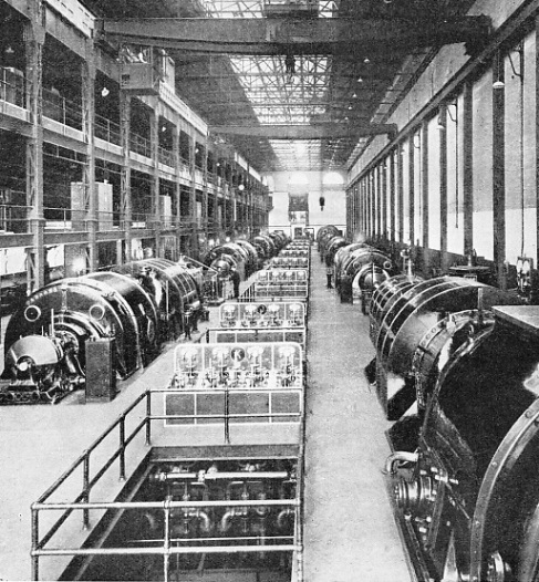 A general view of the Generator Room at Lots Road Power Station