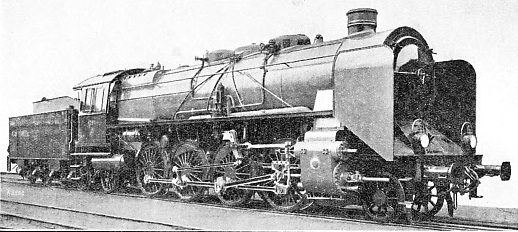 COMPOUND 2-8-2 EXPRESS ENGINE, PRUSSIAN STATE RAILWAYS