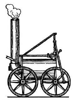 The first Passenger Engine  (1808)