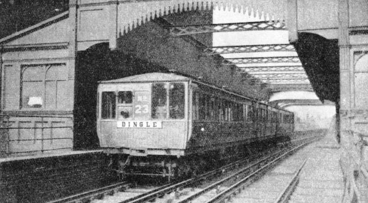 THE PIER HEAD STATION on the Liverpool Overhead Railway