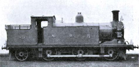 TANK ENGINE NO. 863 - FOR LOCAL TRAFFIC