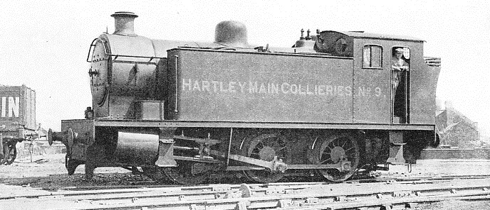 A TANK ENGINE OF THE 0-6-0 TYPE
