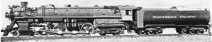 Northern Pacific 4-8-4 express passenger engine